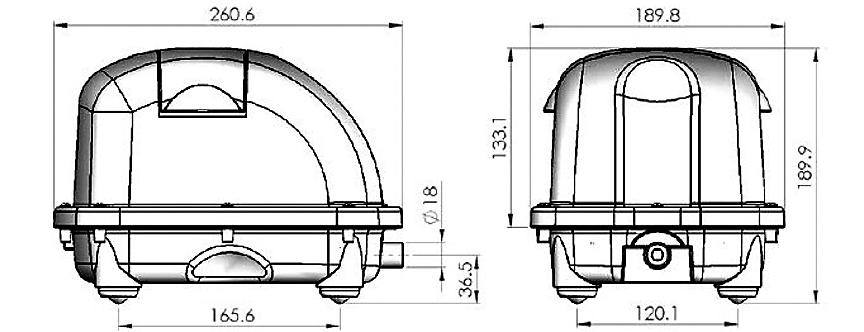Компрессор AIRMAC DBP-40